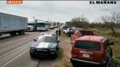Campesinos bloquean carretera federal Victoria-Matamoros