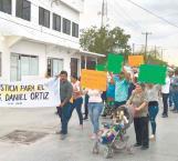 Marchan en demanda de justicia para Daniel Ortiz