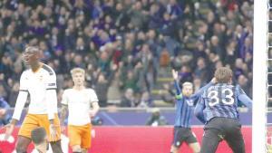 ¡Atalanta golea al Valencia!
