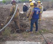Cierran fuga de gas butano en Río Bravo