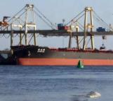 Atraca en puerto jaibo un barco proveniente de China, descartan coronavirus