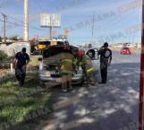 Se incendia camioneta frente a PC y no tenían extinguidores
