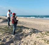 Desértica la Playa de Miramar en víspera de Semana Santa