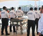 Reconocen entrega, valor y sacrificio de policía caído en Nuevo Laredo