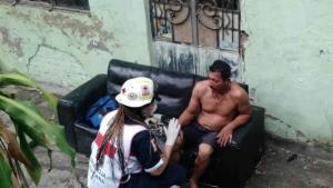 Familia casi muere calcinada al incendiarse la casa