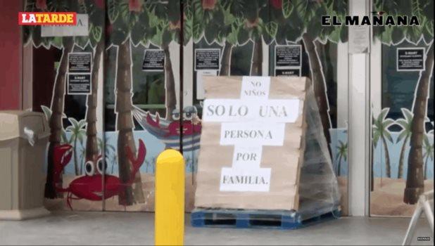 El supermercado donde se detectó un caso de Covid-19 permanece abierto