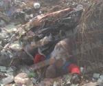 Encuentran pepenadores un cadáver en basurero
