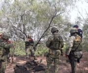 Asegura GN arsenal tras acudir a revisión por detonaciones
