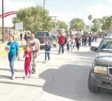 Frenan deportaciones a través de Matamoros