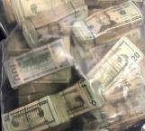 Policía de Combes incauta más de 246 mil dólares