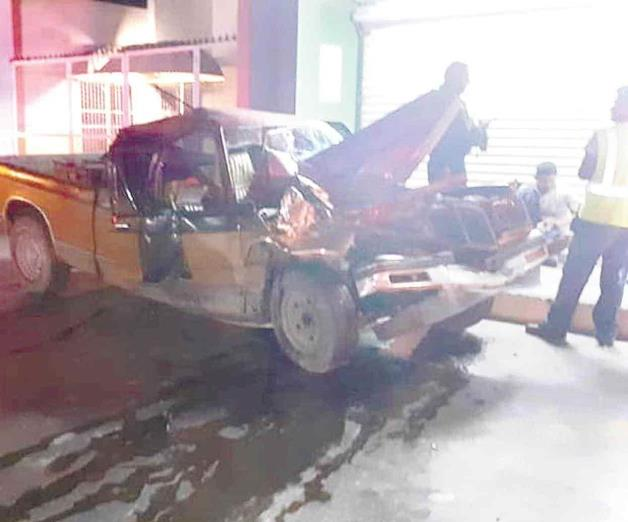 Carreterazo deja tres lesionados