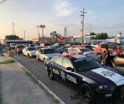 Mantienen bloqueo a zona industrial en Matamoros; en protesta por arresto de Susana Prieto