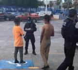 Arrestados dos menores; dormían dentro de las instalaciones de una escuela