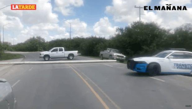 No hay tránsito por el Libramiento Luis Echeverría de esta frontera