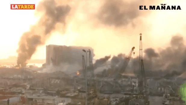 Explosión en Beirut deja muerte y destrucción