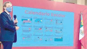 Presenta calendario escolar ciclo 2020-21