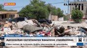 Aprovechan carretoneros basureros clandestinos