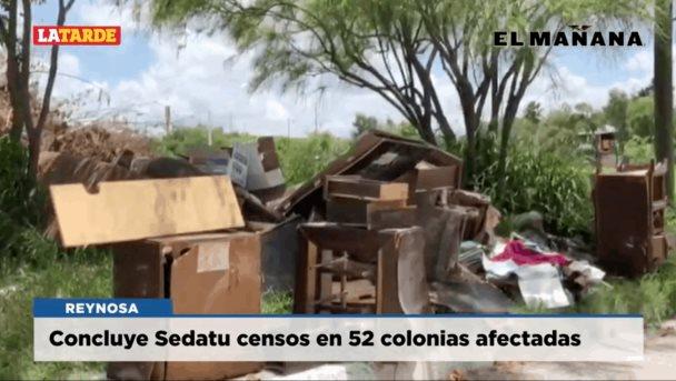 Concluye Sedatu censos en 52 colonias afectadas