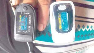 Alertan sobre marca de oxímetro 'descalibrado'
