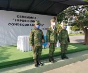 Condecoran a militares de Reynosa