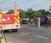 2 muertos y un herido, el saldo de accidente vial