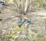 Buscan identificar restos humanos