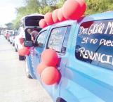 Arrecian protestas en Salud