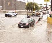 Caos por lluvias