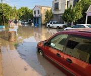 Sorprende lluvia a Matamoros; deja varios sectores inundados