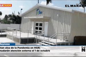 Alistan alza de la Pandemia en HGR