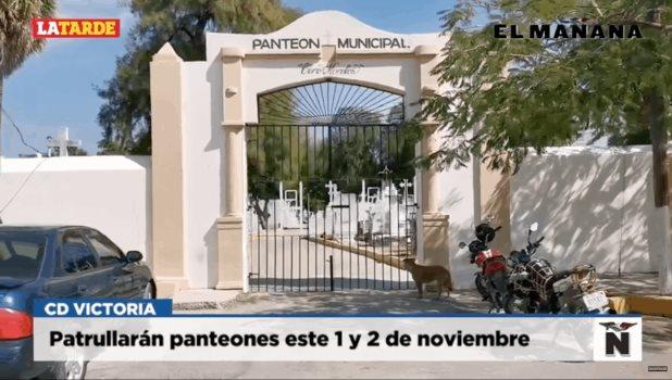 Patrullarán panteones este 1 y 2 de noviembre