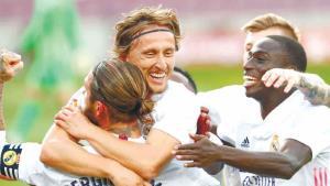 Va Real Madrid por revancha