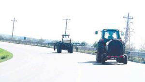 Alertan por el aumento en tráfico de maquinaria