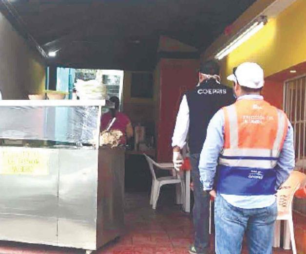 Clausura Coepris 48 negocios en Altamira