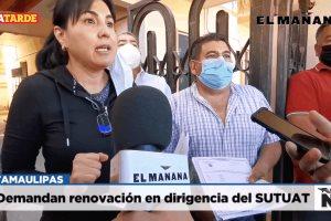 Demandan renovación en dirigencia del SUTUAT