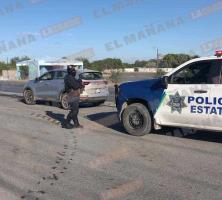 Detienen a dos sujetos tras fallido robo de auto