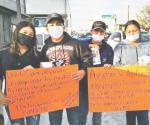 Piden ayuda de la ciudadanía para operaciones de jóvenes