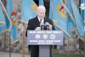 Llora Joe Biden al dejar Delaware para tomar posesión como presidente de EU