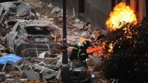 Explosión por fuga de gas deja dos muertos en Madrid