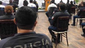 Festeja municipio el Día del Policía