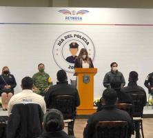 Festeja el municipio a los policías en su día
