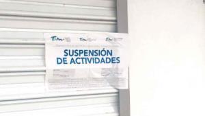Clausuran 3 negocios en centro de Altamira