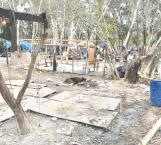 Procederán a desmantelar el campamento migrante