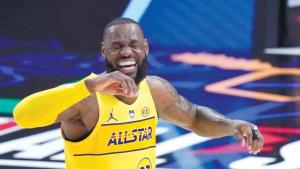 ¡Domina Lebron a placer!