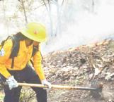 Combate PC tres incendios forestales