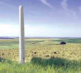 Diseñan una turbina eólica que vibra y no utiliza palas