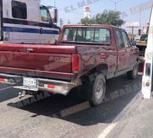 Accidente vial; un taxi el responsable