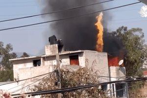 Una familia prepara carnitas y provoca incendio en Naucalpan