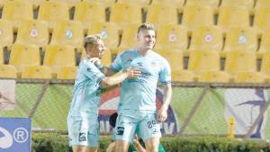 ¡Mazatlán FC roba triunfo  a Xolos en el agregado!