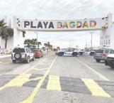 Restringen acceso a la Playa Bagdad
